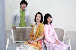 『スキップ』深川麻衣、霧矢大夢、岡田達也(右から)